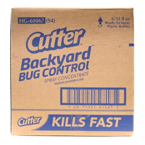 CB610673 Cutter® Backyard™ Bug Control Spray Concentrate (Ready-to-Spray)