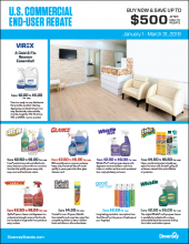 Q1 2018 US Commerical End-User Rebate Flyer - Building Care