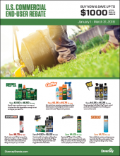 Q1 2018 US Commercial End-User Rebate Flyer - Insect Control