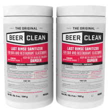 Beer Clean Last Rinse Sanitizer 2 lb. bulk powder 90203