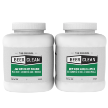 Beer Clean Low Suds Glass Cleaner 4lb. Bulk 990241 Diversey